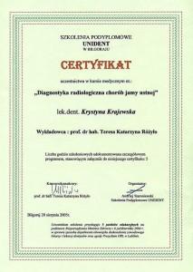 kardent certyfikat 14