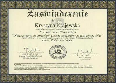 kardent certyfikat 32