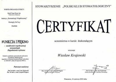 kardent certyfikat 40