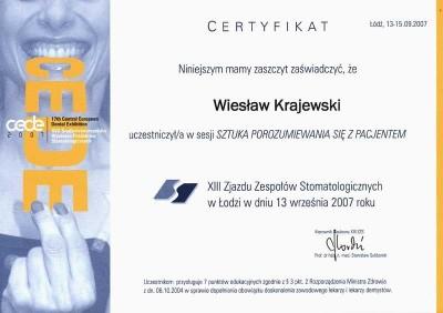 kardent certyfikat 51