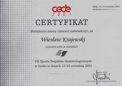 kardent certyfikat 54